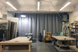 goffs-sound-curtain-wall-industrial-noise-control-separate-shop