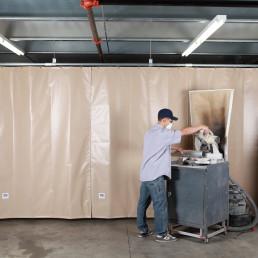 goffs-sound-curtain-wall-industrial-noise-control-shield-saw-air-compressor